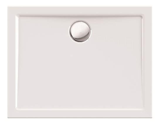 Duschwanne / Brausewanne 100 x 80 x 2,5 cm Rechteckig DW 41