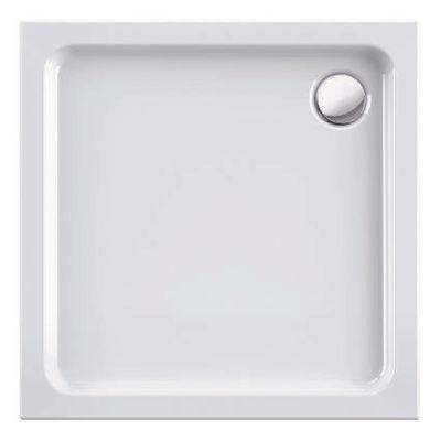 Duschwanne / Brausewanne 90 x 90 x 4 cm Quadrat DW 24 – Bild 1