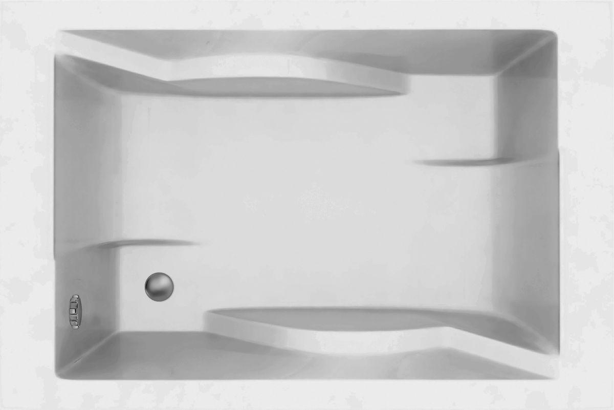 Rechteck Badewanne Galatea Sunset 180 x 120 x 44 für 2 Personen