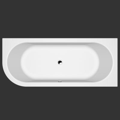 Badewanne 190 x 80 x 50 Petra Rechts / Links T&R Design – Bild 2