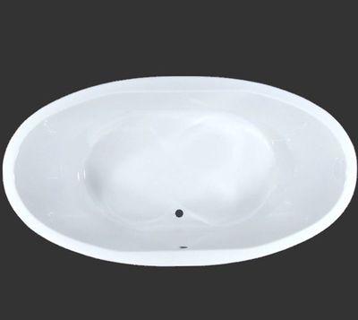 Badewanne Oval 190 x 100 x 50 cm Aura T&R Design – Bild 1