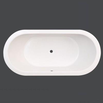 Badewanne Oval 170 x 80 x 50 cm Pia T&R Design
