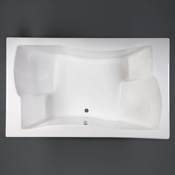 badewanne duet 180 x 110 x 50 t r design. Black Bedroom Furniture Sets. Home Design Ideas