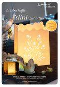 "Luminaria Mini-Dekolicht-Tüten ""Ranke"" - 4 handgelaserte Mini-Lichttüten 001"