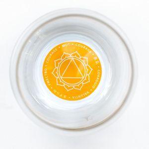 LivingDesigns Becher MYTHOS Solar Plexus-Chakra (Mut) – Bild 2
