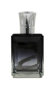 Duftlampe Obsidian eckig schwarz/klar 16cm - katalytische Aromalampe – Bild 1