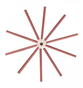 Fresh Rose Dhoop Sticks - 10 Sticks inkl. Halter pro Packung – Bild 2