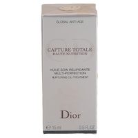 Christian Dior Capture Totale 15 ml Haute Nutrition Nurturing Oil Treatment