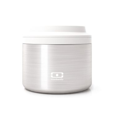 MB Element silver The insulated bento box 400001000