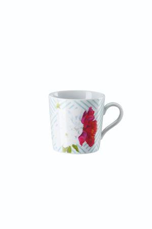 Arzberg Tric Vivid Bloom Celadon floral Espr/Mokka-Obertasse 49700-640156-14722