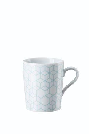 Arzberg Tric Vivid Bloom Pattern celadon Becher mit Henkel 49700-640157-15505