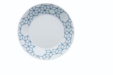 Arzberg Tric Vivid Bloom Pattern blue Suppenschale 21 cm 49700-640158-15385
