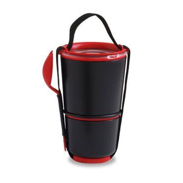 Black + Blum Lunch Pot - Black / Red BP004