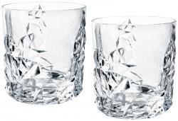 Nachtmann 4 tlg. Whiskygläser-Set Sculpture Bleikristall 0091901-0 x 2