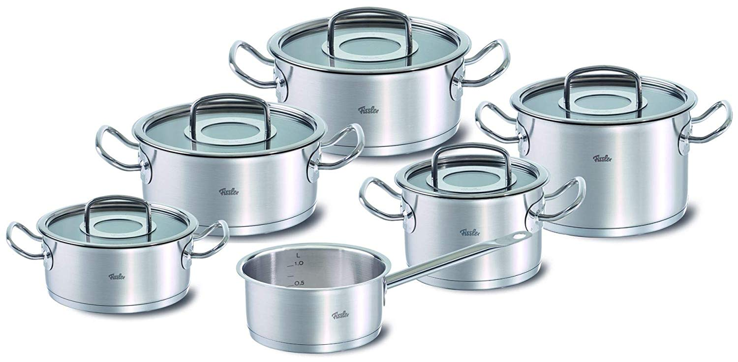 Fissler Original Profi Collection Topf Set 6 Tlg Edelstahl 1810