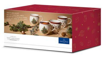 Villeroy & Boch Toys Delight Kaffee Becher m.Henkel 4tlg Tanne 14-8585-8447