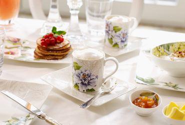 Villeroy & Boch Quinsai Garden Kaffeetasse m.Unter.2-tlg 10-4380-1290