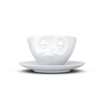 FiftyEight T014501 Kaffee-Tasse verpennt Hartporzellan 200 ml, weiß