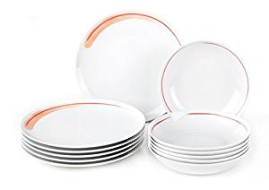 Vivo - Villeroy und Boch Group vivo Fresh Peach Tafelset 12tlg. 19-5260-7609