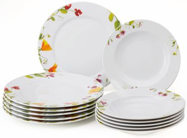 Vivo - Villeroy und Boch Group vivo Sweet Garden 12pcs Dinner Set 19-5262-7609
