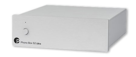 Pro-Ject Phono Box S2 Ultra Phono Preamplifier (MM/MC) Silver – image 1
