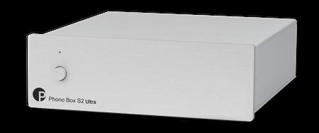 Pro-Ject Phono Box S2 Ultra Phono Preamplifier (MM/MC) Silver