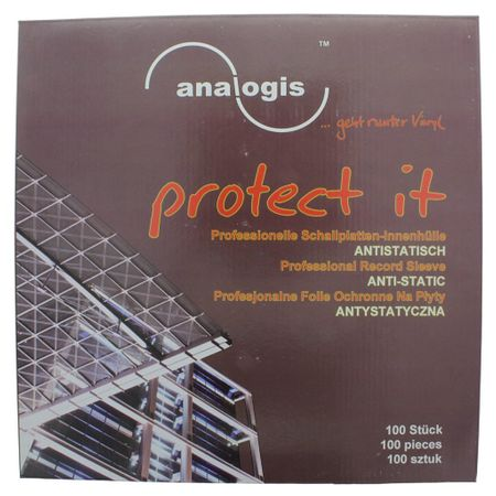 Analogis protect it Schallplatten-Innenhüllen 100 Stück