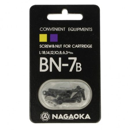 Nagaoka BN-7B Phono Screw Set