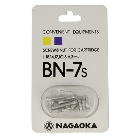 Nagaoka BN-7S Phono Screw Set