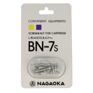 Nagaoka BN-7S Phono Schraubenset 001