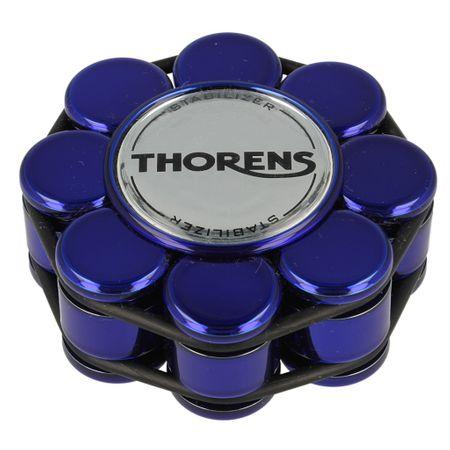 Thorens Stabilizer / Plattengewicht blau – Bild 1
