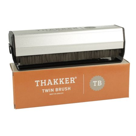 Thakker Twin Brush Super Exstatic Corbon Fibre Record Cleaning Brush – image 2