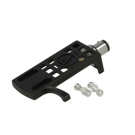 "Audio Technica AT-HS10 Black Headshell vor 1/2""-mount cartridge  – image 1"