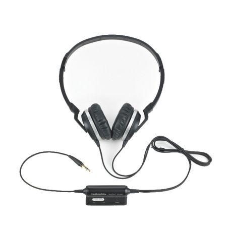 Audio Technica ATH-ANC1 Kopfhörer Schwarz