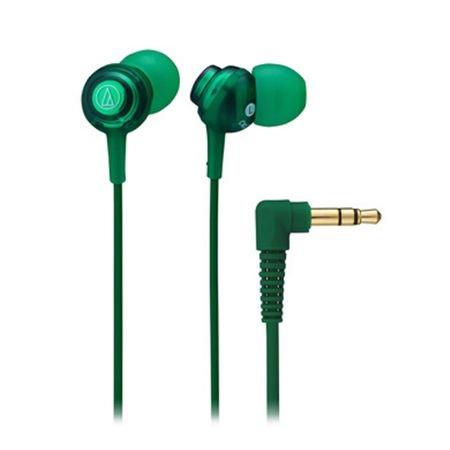 Audio Technica ATH-CKL202GR Inner Ear Headphones - Green