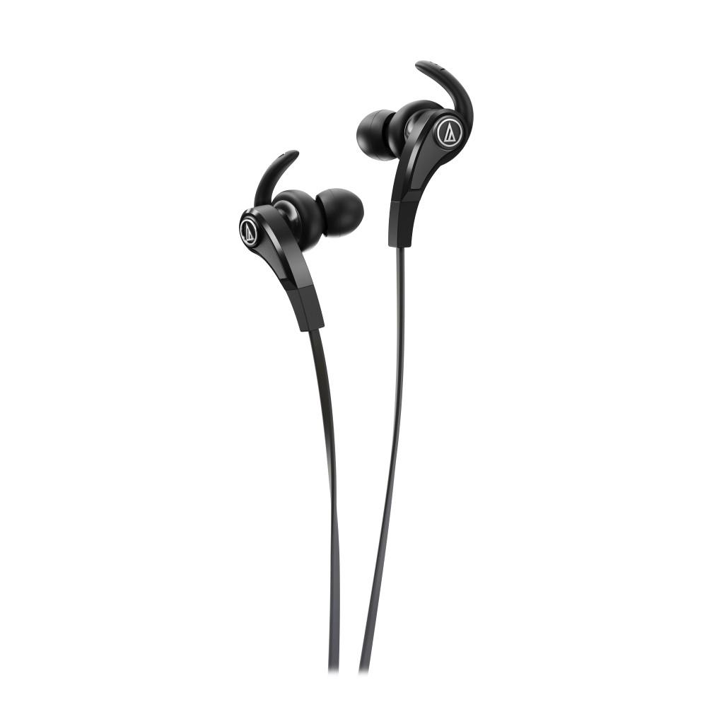audio technica ath-ckx9bk sonicfuel in ear headphones