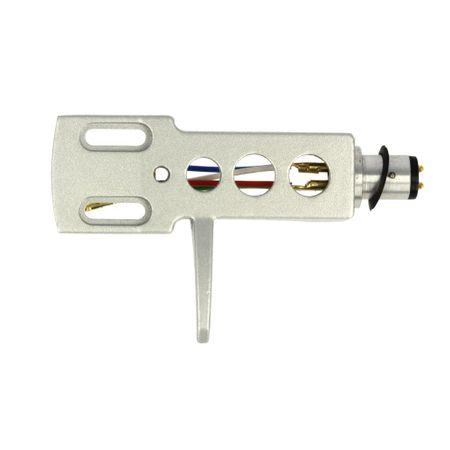 Thakker Headshell HS-11 Silver incl. headshell leads – image 1