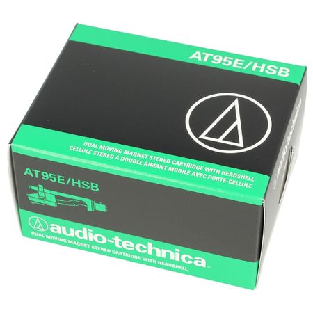 Audio Technica AT95E/HSB - AT 95 E Tonabnehmer inkl. AT-HS10 Headshell – Bild 2