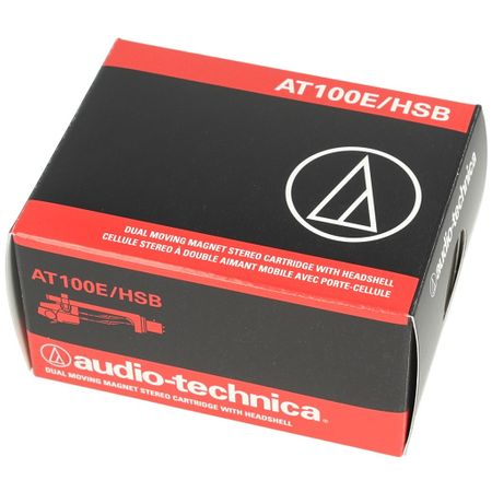 Audio Technica AT100E/HSB - AT 100 E Tonabnehmer inkl. AT-HS10 Headshell – Bild 2