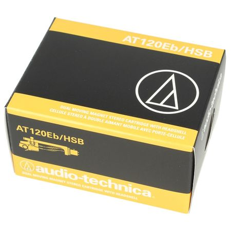 Audio Technica AT120Eb/HSB - AT 120 Eb Cartridge incl. AT-HS10 Headshell – image 2