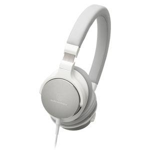 Audio Technica ATH-SR5 High-Resolution On-Ear Headphone White 001
