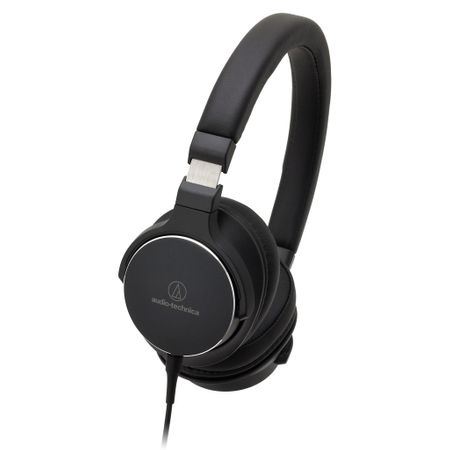 Audio Technica ATH-SR5 High-Resolution On-Ear Kopfhörer Schwarz – Bild 1