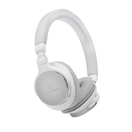 Audio Technica ATH-SR5BT Kabelloser Bluetooth High-Resolution On-Ear Kopfhörer Weiß