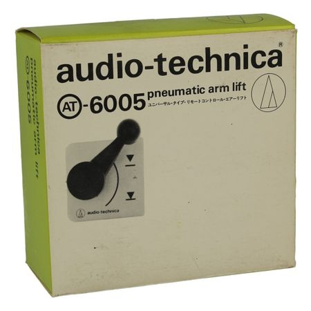 Audio Technica AT-6005 pneumatischer Tonarmlift