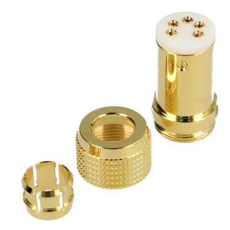 Thakker Tonearm Plug Connector Straight (5 Pol.)  – image 3