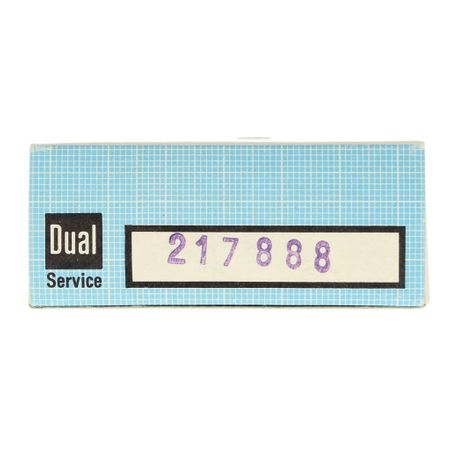 Dual 1220 Reibrad – Bild 2