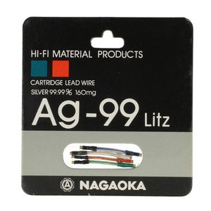 Nagaoka Ag-99 Litz Headshell Kabel Set 001