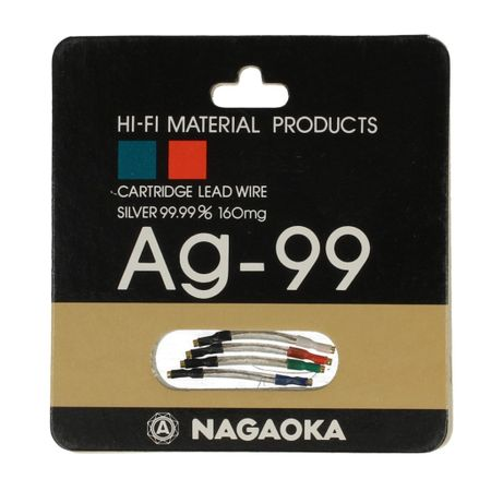 Nagaoka Ag-99 Headshell Leads Wires Cables – image 1