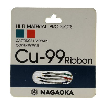 Nagaoka Cu-99 Ribbon Headshell Leads Wires Cables