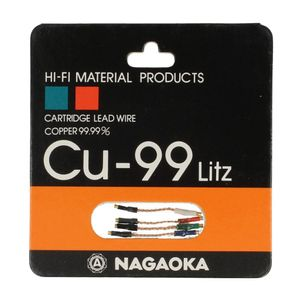 Nagaoka Cu-99 Litz Headshell Kabel Set 001